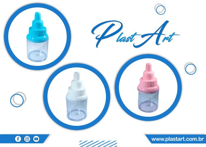 miniaturas de mamadeiras festa infantil cha de bebe plast art