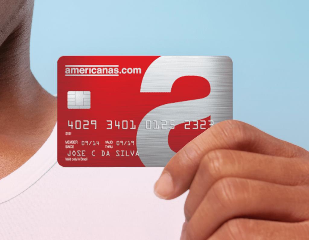 Qual o banco do cartão das Lojas Americanas?
